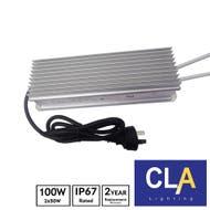 waterproof LED driver transformer 2 x 50 w